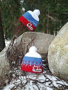 Čiapky - Zimné čiapky Slovakia 🇸🇰 - 11381389_