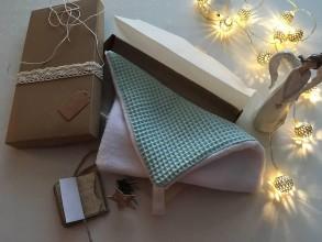 Úžitkový textil - Giving Tuesday - uteráčik pre ... (farba mentolová pre Árminka) - 11380507_