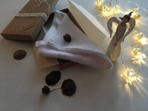 Úžitkový textil - Giving Tuesday - uteráčik pre ... (farba biela pre Nikolku) - 11380530_