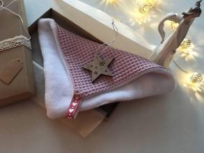Úžitkový textil - Giving Tuesday - uteráčik pre ... (farba staroružová pre Mirku) - 11380603_