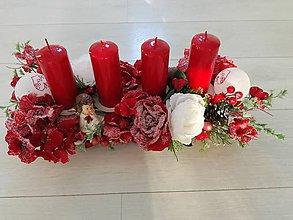 Dekorácie - Adventný svietnik - 11381387_