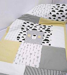 Úžitkový textil - Prehoz obojstranný 90x200 - 11384091_