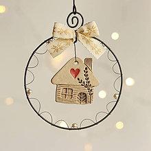 Dekorácie - vianočná dekorácia - 11381956_