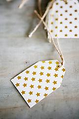 Papiernictvo - Menovky na darčeky - vianočné - 11384123_