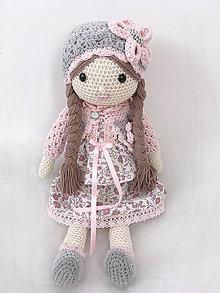 Hračky - Háčkovaná bábika - 11384965_