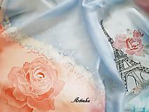 Šatky - Šatka hodvábna - Parížanka - 11382063_