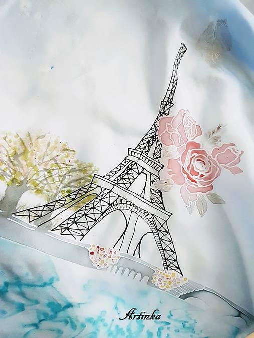 Šatka hodvábna - Parížanka