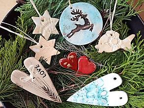 Dekorácie - vianočné ozdoby - Váš výber /10ks/ - 11383014_