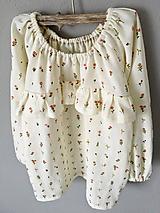 Detské oblečenie - Košieľka mušelínová - 11382346_