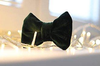 Pre zvieratká - Emerald Bow Tie - 11383617_