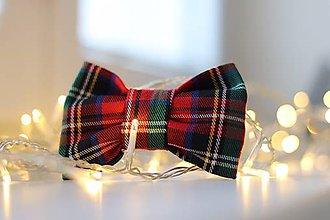Pre zvieratká - Royal Tartan Bow Tie - 11383803_