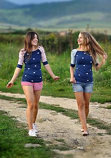 Tričká - Tričko Marinelle - skladom ružové S - 11382805_