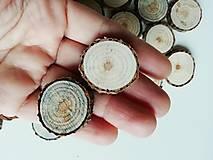 Borovicové kolieska (priemer 2,5 cm)