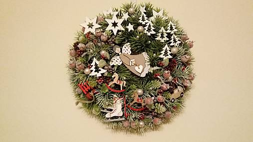 Vianocny veniec Posol lasky
