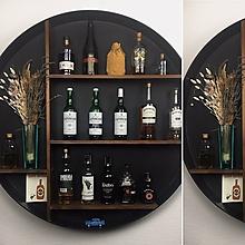 Nábytok - Zaujímavé uskladnenie alkoholu/kníh/uterákov/dreva... - 11383489_