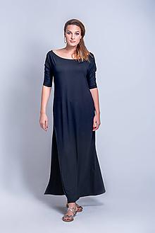Šaty - Dlhé šaty s rozparkom - 11382945_