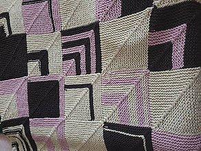 Úžitkový textil - SOLITAIRE! Nádherná prikrývka na posteľ - 11383011_