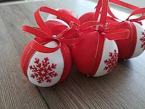 """Dekorácie - Vianočná guľa """"VLOČKA"""" - 11383099_"""