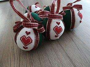 """Dekorácie - Vianočná guľa """"SRDCE"""" - 11383107_"""