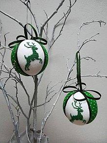 """Dekorácie - Vianočná guľa """"JELEŇ"""" - 11383132_"""