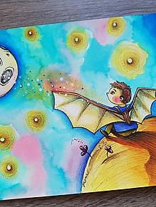 Obrazy - Jeden malý chlapec a jeden veľký sen... - 11384978_