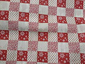 Textil - Vianočne kocky š.140 - 11384407_
