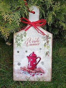 Pomôcky - vianočný lopárik - 11383711_