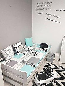 Textil - Vankuse set 3ks 40x40cm z kolekcie Nordic detska izba 40x40cm - 11387392_