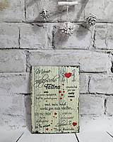 Drobnosti - Tabuľka pre Tatina - 11387942_