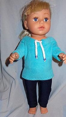 Hračky - mikina pre baby born sister 43 cm - 11388101_