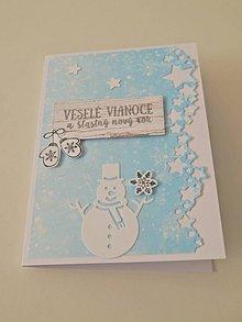 Papiernictvo - Vianočná pohľadnica IV - 11386832_