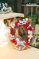Dekorácie - Vianoce - veniec - vinič II - 11388034_