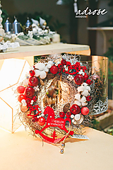 Dekorácie - Vianoce - veniec - vinič III - 11388035_