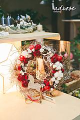 Dekorácie - Vianoce - veniec - vinič I - 11388036_