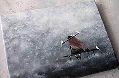 Dekorácie - V snehovej búrke - 11386462_
