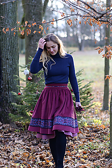 Sukne - sukňa Stela  - 11388218_