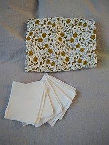 Úžitkový textil - Odličovacie bavlnené obrúsky - 11386784_