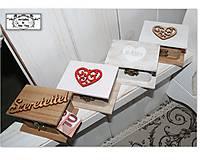 Mini krabičky na peňažné dary :)