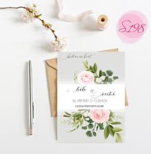Papiernictvo - svadobné oznámenie S198 - 11385814_