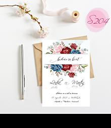 Papiernictvo - svadobné oznámenie S204 - 11385835_