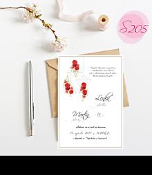 Papiernictvo - svadobné oznámenie S205 - 11385838_