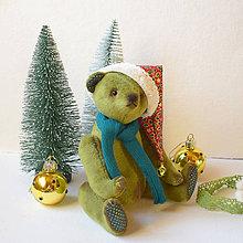 Hračky - Vianočný macko - 11387133_