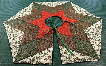 Úžitkový textil - Suknička pod vianočný stromček - 11387705_