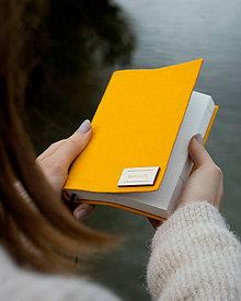 Papiernictvo - Ručne viazaný Diár A6 2020 - 5 farebných variant (Žltý) - 11386957_