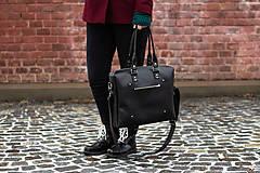 Veľké tašky - Mega černá - 11390008_