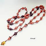 Náhrdelníky - Set náhrdelníkov 589-0056 - 11390439_