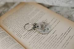 Kľúčenky - Prívesok na kľúče SOM TU PRE TEBA - 11389000_