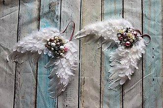 Dekorácie - anjelské krídla (veľké) - 11389239_