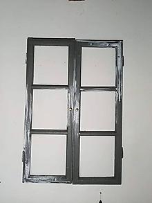 Dekorácie - okno sivé - 11388547_