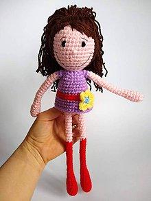 Hračky - Dlhonohá bábika - 11390348_
